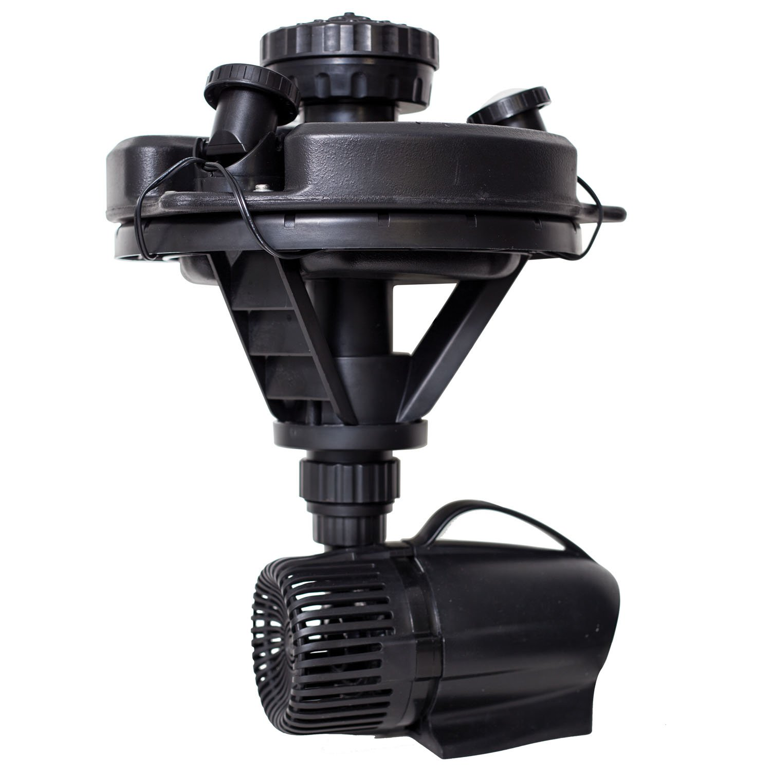 Pond Boss DFTN12003L Floating Fountain With Lights, 50 Foot Power Cord, 1/4 hp by pond boss