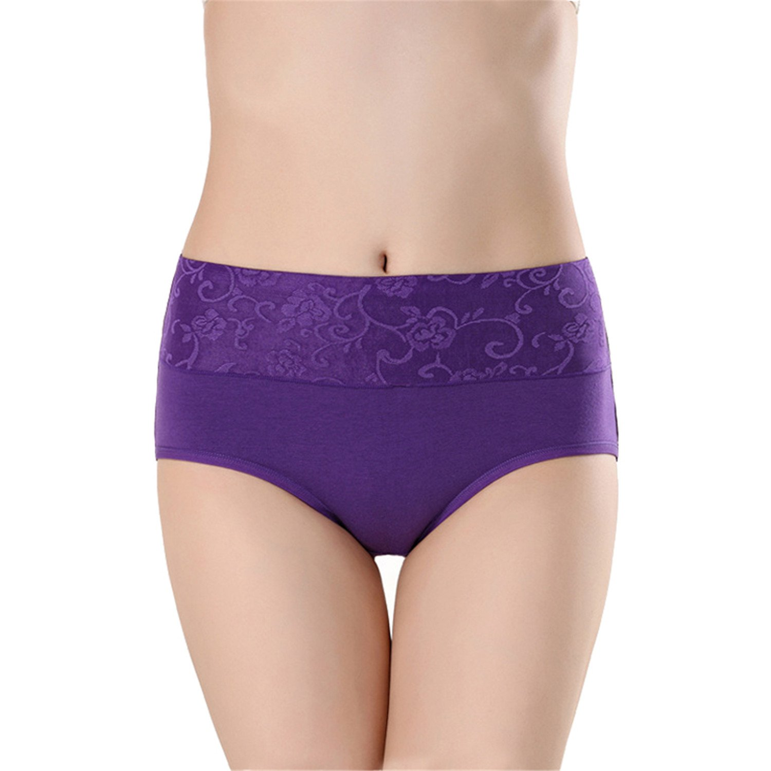 Panties Underwear Women Briefs Sexy Lingeries G-String Pink purple M at Amazon Womens Clothing store: