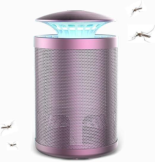ÉTM Bug Zappers | Casa Inhalador De Moscas De Insectos | Multifunction Lámpara Insecticida Adecuado para El Campamento/Jardín/Familia/Oficina/Casa (Rosy): Amazon.es: Hogar