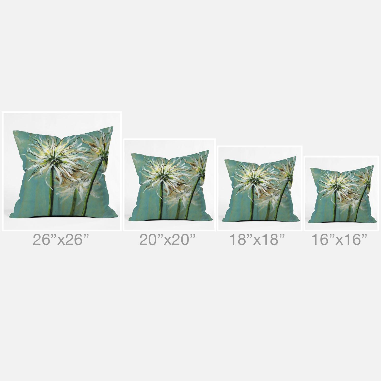 Kess InHouse Rachel Kokko Oh Deer 26 x 26 Square Floor Pillow