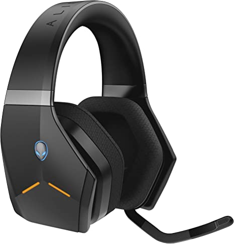 Amazon Com Alienware Wireless Gaming Headset Aw988 7 1 Surround Sound Rgb Alienfx Boom Noise Cancelling Mic Sports Fabric Earcups Works W Ps4 Xbox One Nintendo Switch Mobile Devices Via 3 5mm Connector Computers Accessories