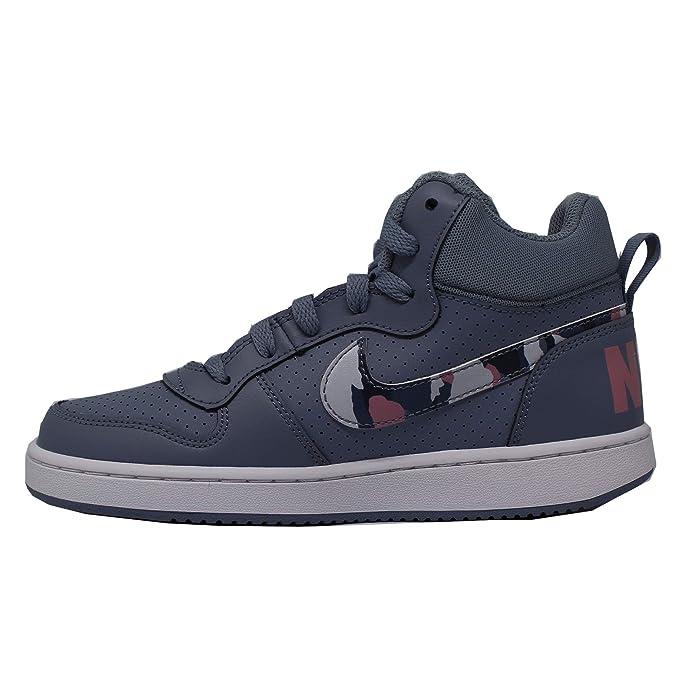 Nike Court Borough Mid (GS), Zapatillas para Hombre, Multicolor ...