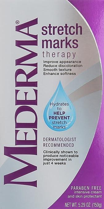 Amazon.com: Crema Mederma Para Prevenir Y Reducir Estrias De Embarazo - Tratamiento - 5.29 Onzas by Crema Mederma Para Estrias: Beauty