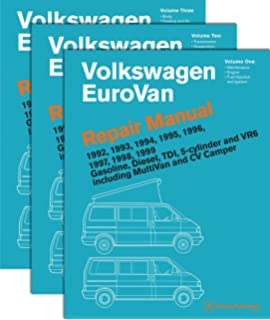 volkswagen eurovan repair manual: 1992, 1993, 1994, 1995, 1996, 1997