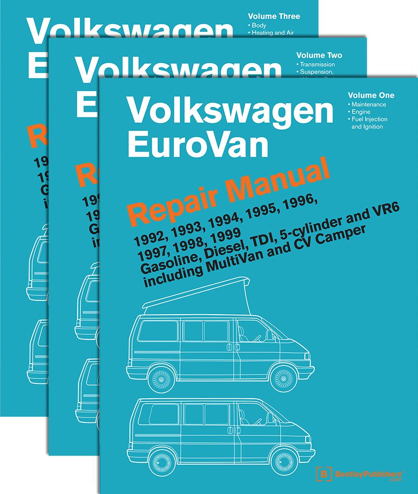 Volkswagen Eurovan Repair Manual: Volkswagen Of America: 9780837616810:  Books - Amazon.ca