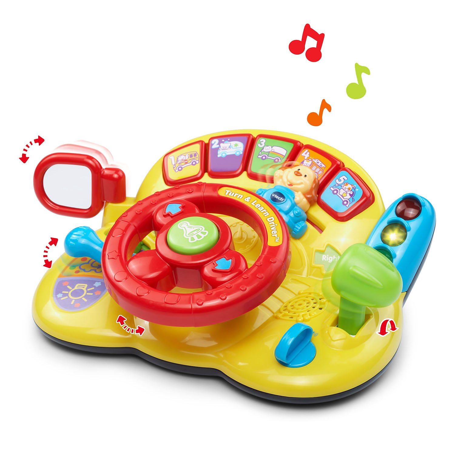 Amazon VTech Turn and Learn Driver Toys & Games