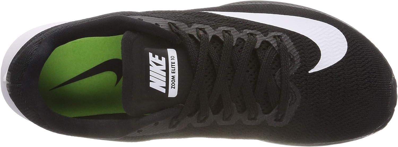 Nike Wmns Air Zoom Elite 10, Zapatillas de Running para Mujer, Negro (Black/White-Volt 001), 40 EU: Amazon.es: Zapatos y complementos