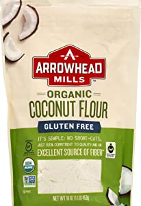 Arrowhead Mills, Organic Gluten Free Coconut Flour, 16 oz
