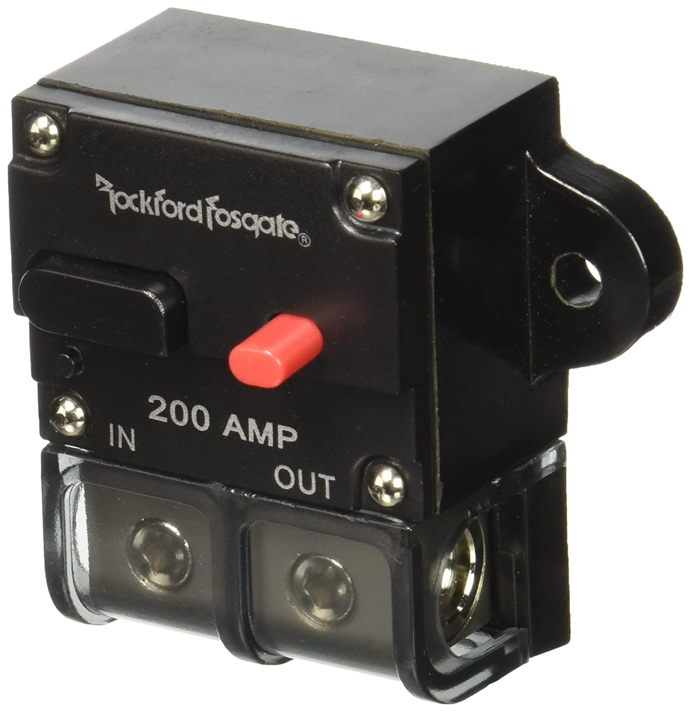 amazoncom rockford 200 amp circuit breaker car electronics