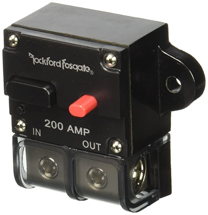 Amazon.com: Rockford 200 Amp Circuit Breaker: Car Electronics