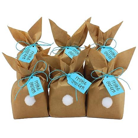 Papierdrachen Diy Osterhasen Zum Selber Basteln Und Befüllen Mit Pompons Zum Aufkleben Geschenk Zu Ostern Osterhase Blau Für Jungen