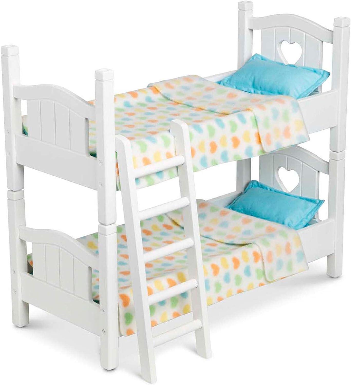 Amazon Com Melissa Doug Bunk Bed Toys Games