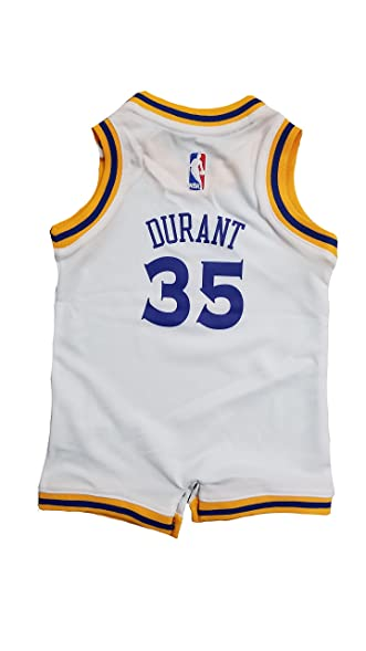 5741d1dc3 Kevin Durant Golden State Warriors  35 White Infants Adidas Home Replica  Jersey (12 Months