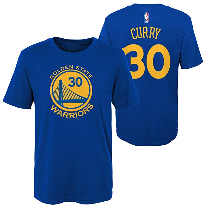NBA Golden State Warriors-Stephen Curry Camisa de Deporte para Niños