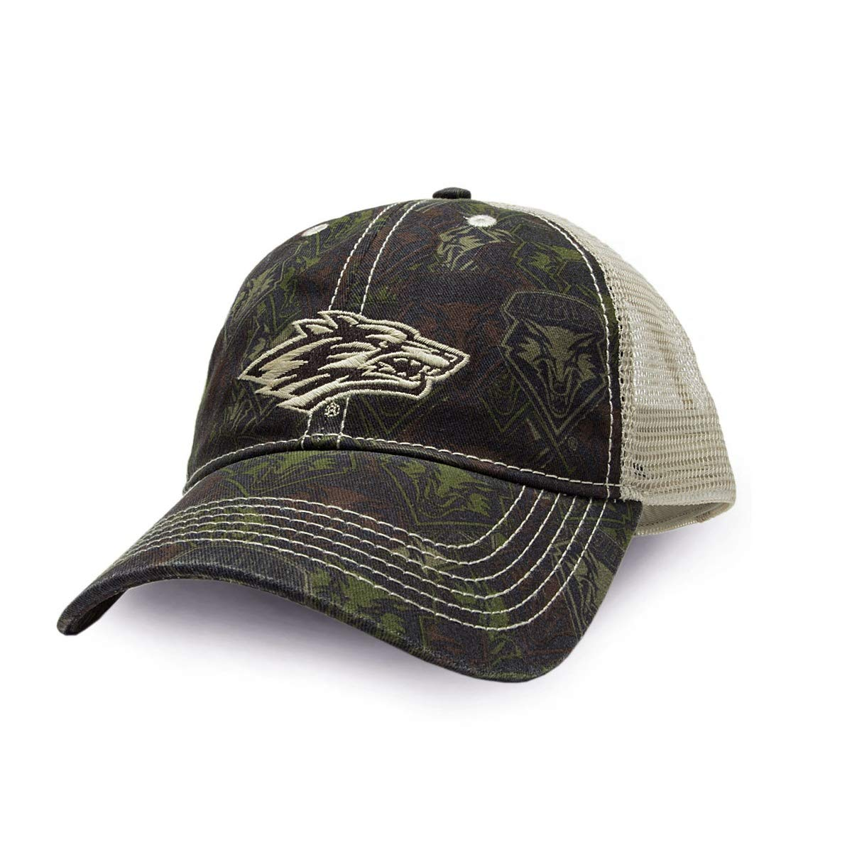 FANOUFLAGE NCAA Adjustable Trucker Hat – Camo Baseball Cap FASUH
