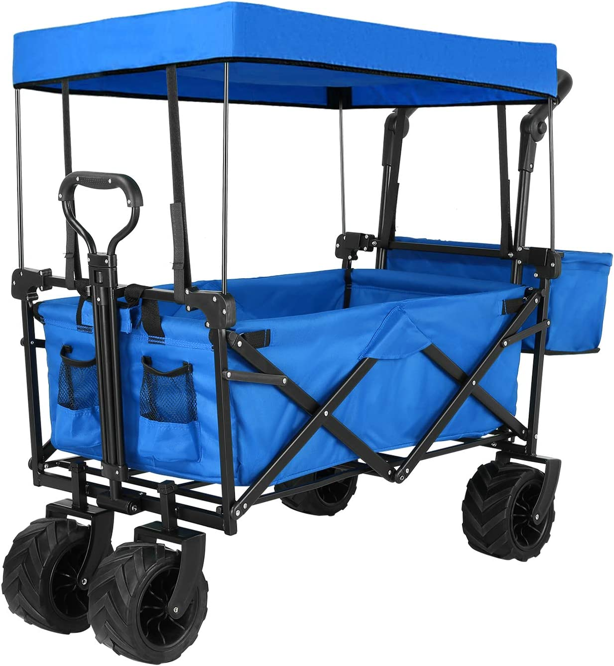 Snan Push and Pull Collapsible Wagon
