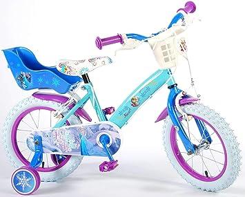 Bicicleta Niña Disney Frozen 14 Pulgadas Ruedas Extraíbles la ...