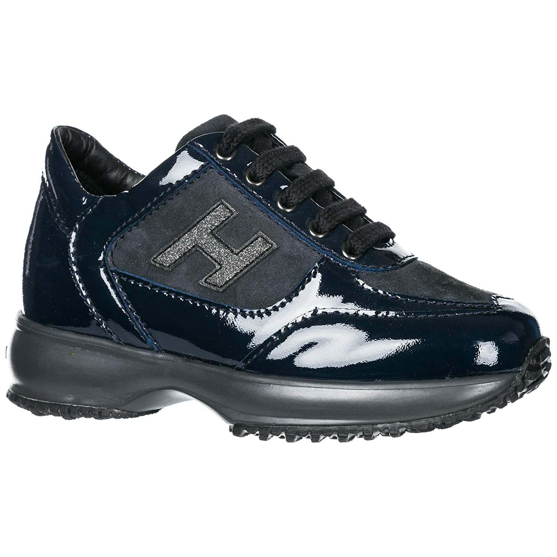 Hogan Sneakers Interactive Bambino Blu Denim Sneaker Scarpe e ...