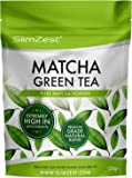 Matcha Green Tea Powder - Premium Grade 120g Pouch - Super Strength Antioxidant UK Made Ultra Fine Easy To Mix Matcha Powder - Perfect for Drinks and Baking with Recipe eBook Included