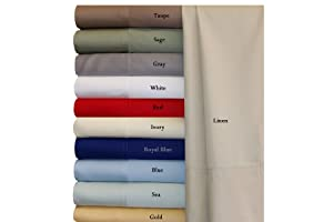 King Gray Silky Soft bed sheets Set