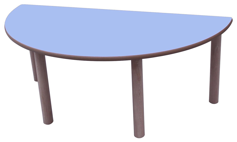 Haya Y Blau Lavanda 120 cm, Größe 3 Mobeduc Flachrundzange Kindertisch, 120 cm, Holz 120 cm, Größe 3 Haya y Blau Lavanda