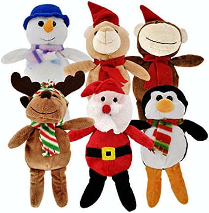 Assorted Colors Christmas Time 3D Plush Animal Hat /& Scarf Sets for Toddlers Little Boys /& Girls