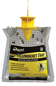 RESCUE Non-Toxic Disposable Yellowjacket Trap, East of the Rockies