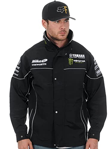 Chaqueta Yamaha Monster Energy Racing Paddock Negro: Amazon.es: Ropa y accesorios