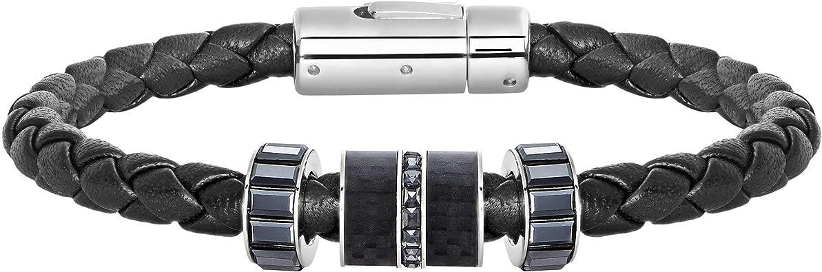 Swarovski Homme Acier Bracelet en corde - 5185336
