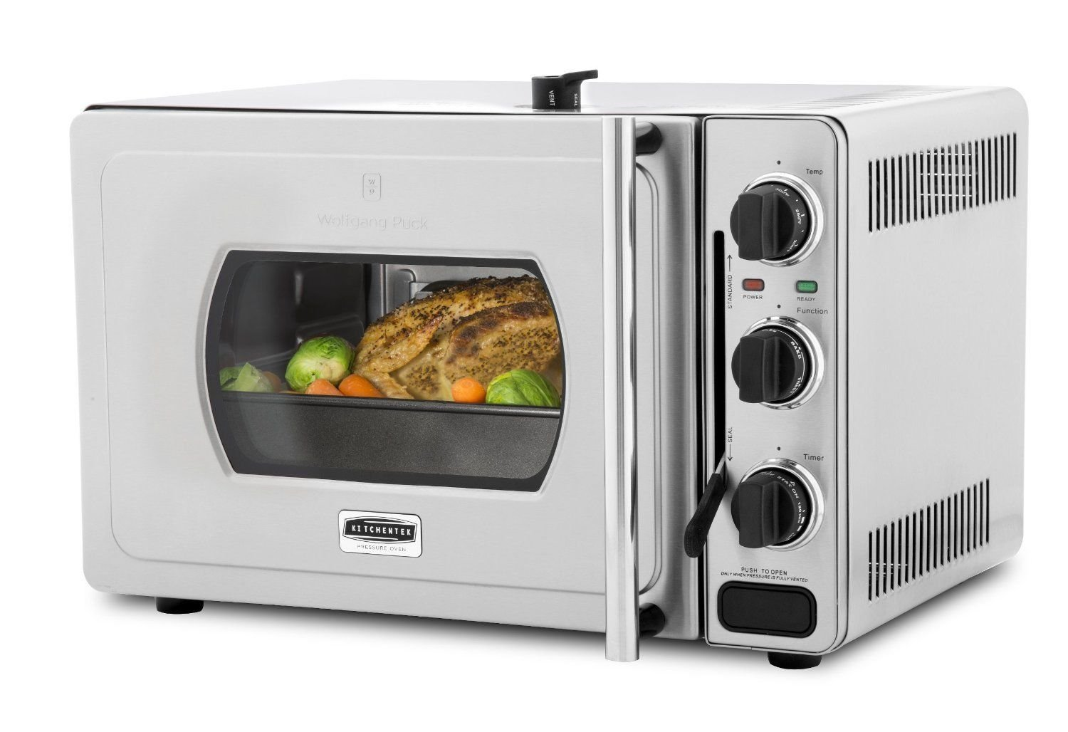 Wolfgang Puck Pressure Oven Original 29-Liter Stainless Countertop Oven - NEW
