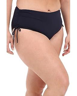 5f99eac5224 Amazon.com: Michael Kors Womens Abby Stripe High-Waist Bikini ...