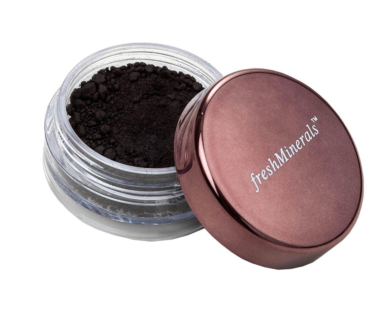 FreshMinerals Loose Eyeshadow, Matt Black, 1.5 Gram