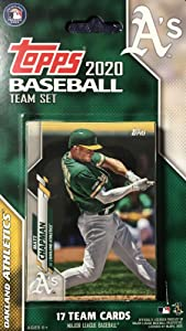Oakland Athletics 2020 Topps Factory Sealed Special Edition 17 Card Team Set with Khris Davis and Matt Chapman Plus