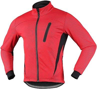 iCreat - Chaqueta de ciclismo para hombre, impermeable, resistente ...