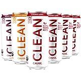 Zero Calorie Variety Pack Organic Sparkling Yerba Mate Tea - Zero Calorie, Zero Sugar, Zero Guilt, (160mg Caffeine…