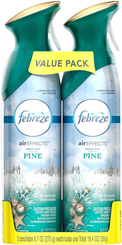 Febreze Air Effects Fresh Cut Pine Air Freshener (2 Count, 19.4 Oz), 1.239 Pound