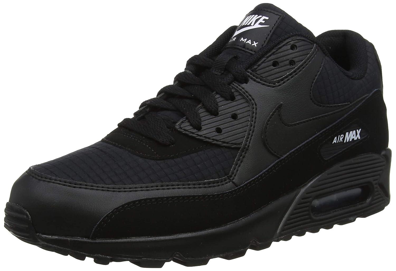 negro (negro blanco 019) Nike Air MAX 90 Essential, Hauszapatos de Gimnasia para Hombre