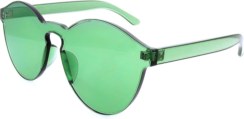 Emblem Eyewear Mono Block Rimless PC Tonalit/é Couleur Lunettes de soleil Lunettes Lunettes