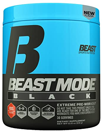 600b0b93 Beast Sports Nutrition – Beast Mode Black – Ultimate Workout Supplement –  High Energy Production –