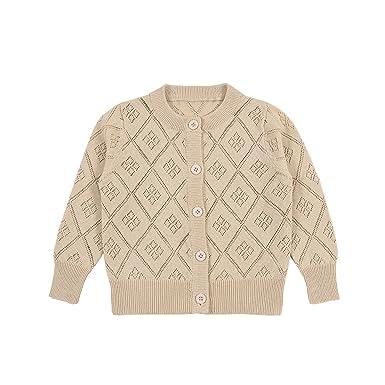 6bf7f147b Amazon.com  TAIYCYXGAN Unisex Baby Boys Girls Button Cardigan ...