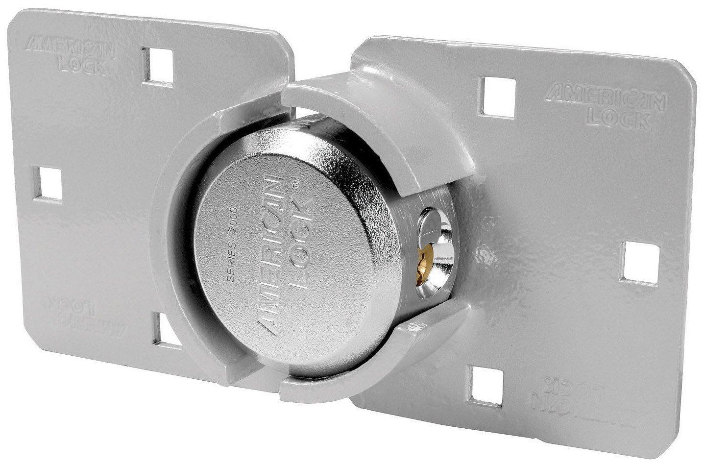 American Lock A800LHCD 2 7/8'' High Security Hasp Shackle Lock