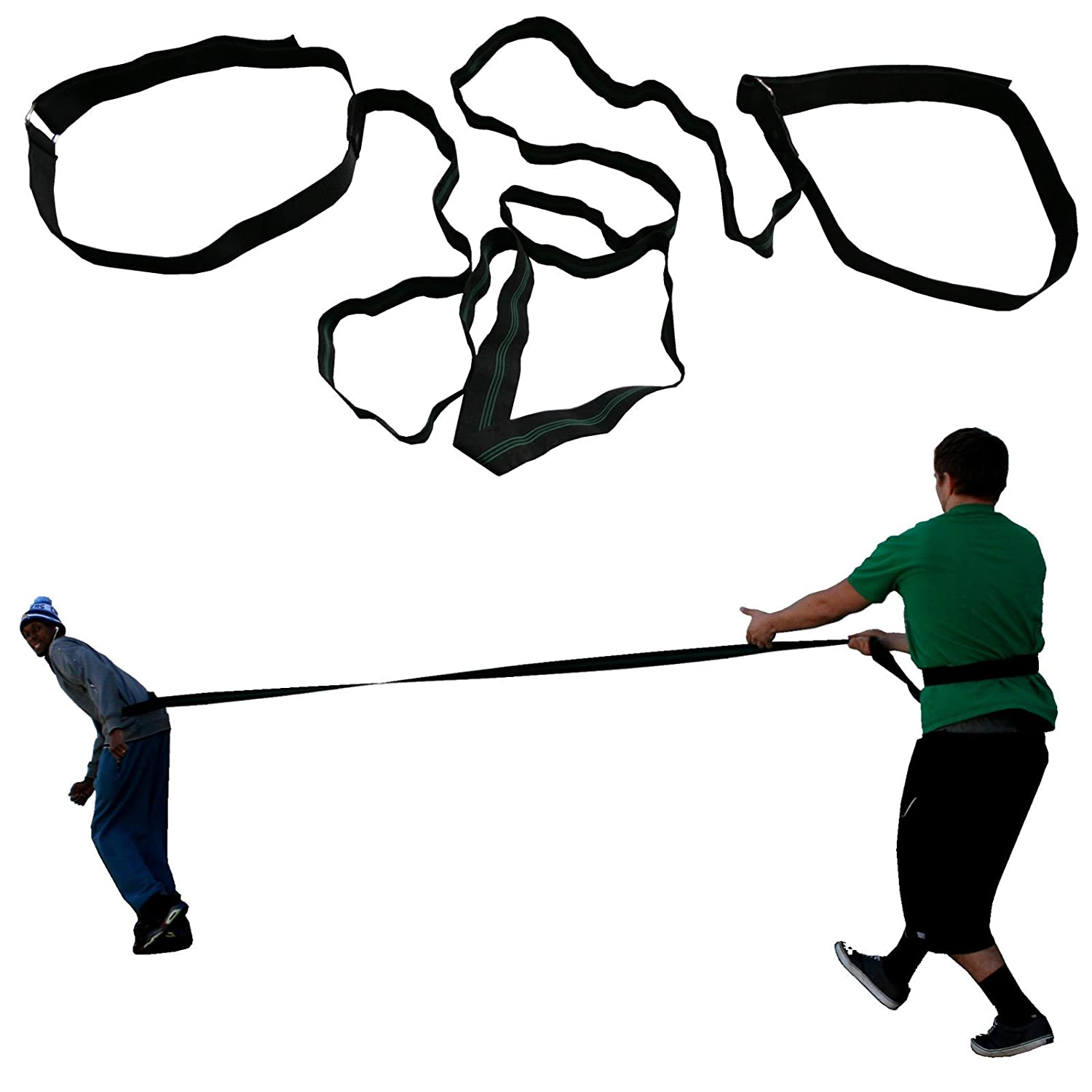 amazon two person heavy resistance band leap frog speed tether War Thunder Toys amazon two person heavy resistance band leap frog speed tether resistance sports outdoors