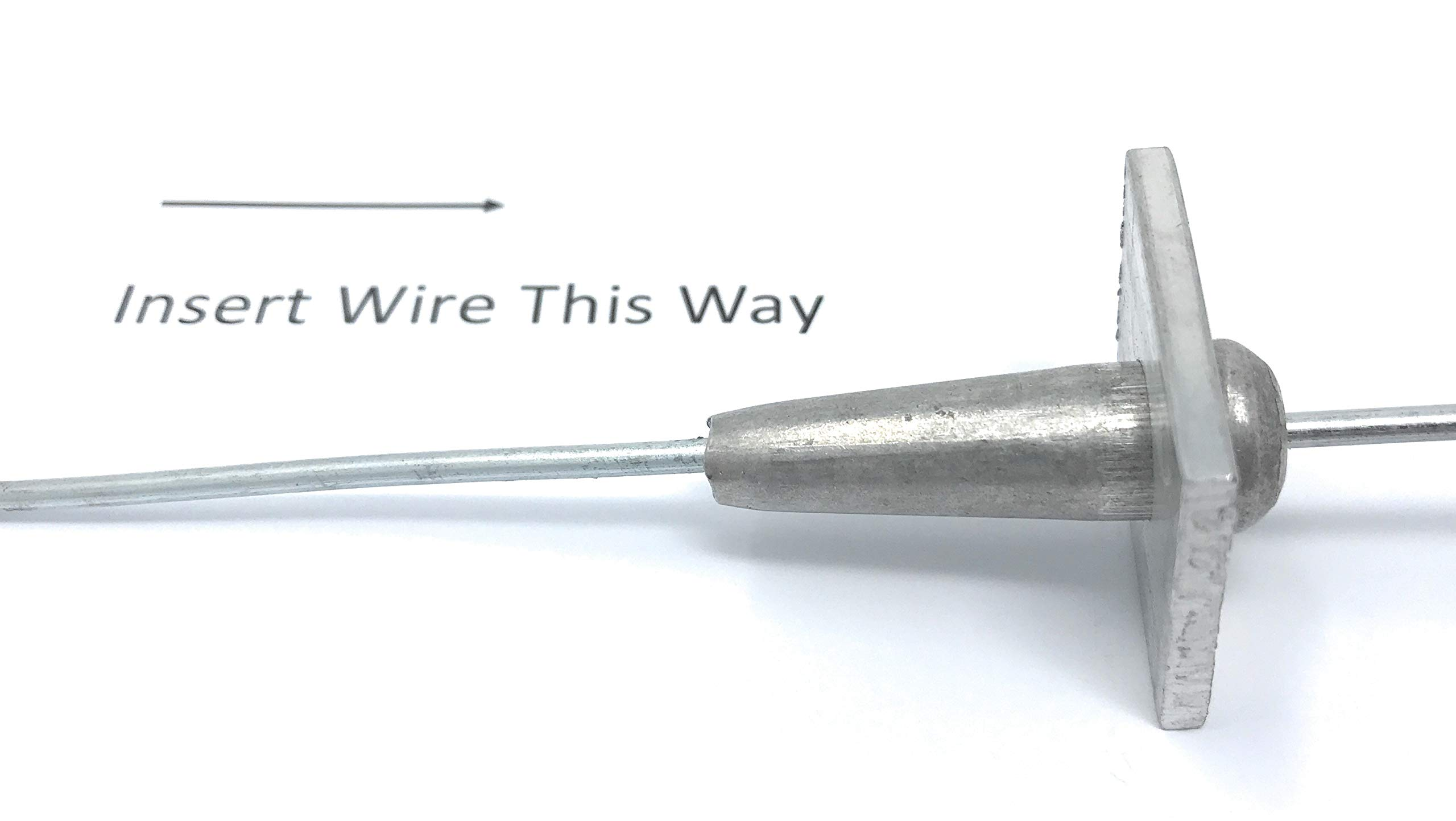 LinkEZ One Way Anchor Vise Trellis Tightening 14~17 GA Wire, Pack of 10 by LinkEZ (Image #2)