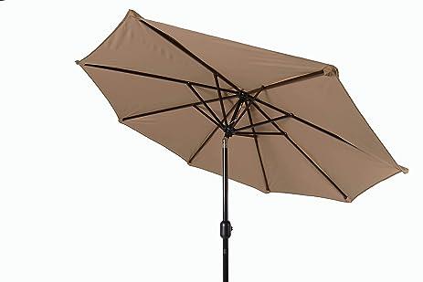 Trademark Innovations Tilt Crank Patio Umbrella, 7u0027, ...