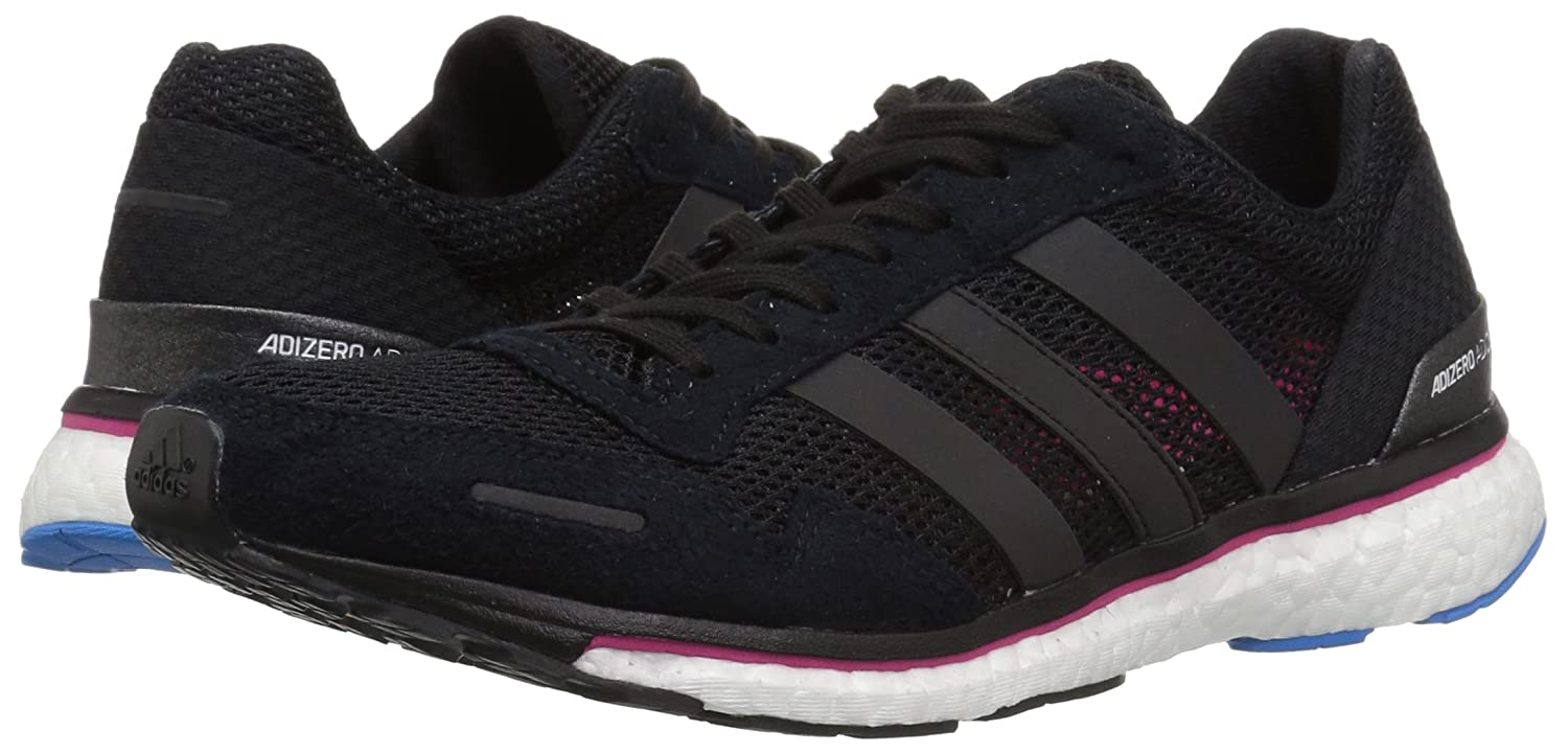 new styles cd52f bf986 Amazon.com  adidas Womens Adizero Adios 3 Running Shoe  Road