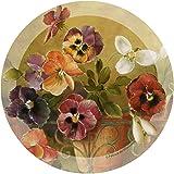 Thirstystone Stoneware Coaster Set, Pansies