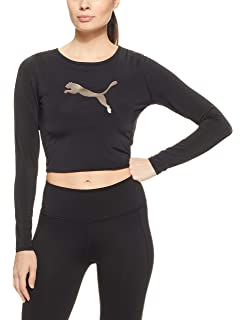 Puma Damen Varsity Cover Up T-Shirt  Amazon.de  Sport   Freizeit dfc5c667fd
