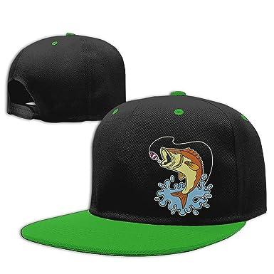 Cebo de Pesca y Trucha Gorras de Hip Hop Algodón Béisbol Sombrero ...