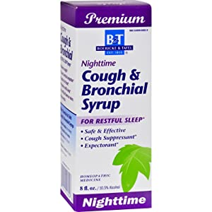 2Pack! Boericke and Tafel Cough and Bronchial Syrup Nighttime - 8 fl oz