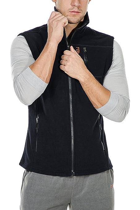 c9b2e89e8fa3c Image not available for. Color  Nonwe Men s Fleece Vest Outdoor Sports XS  Black